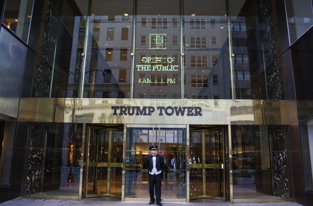 trump towers front