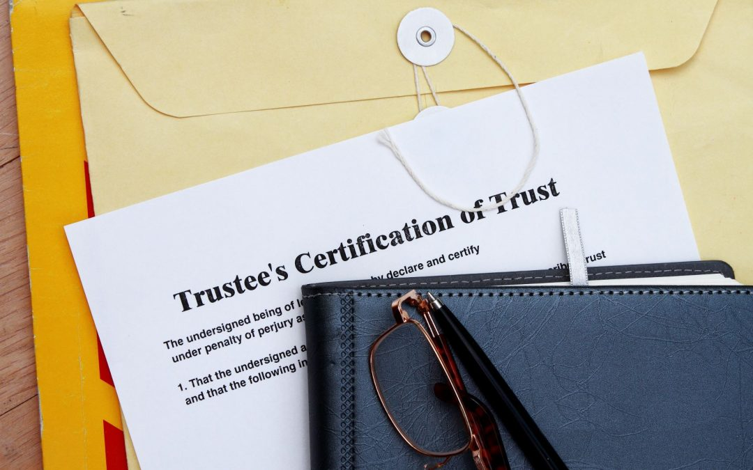 The Critical Task of Selecting a Trustee